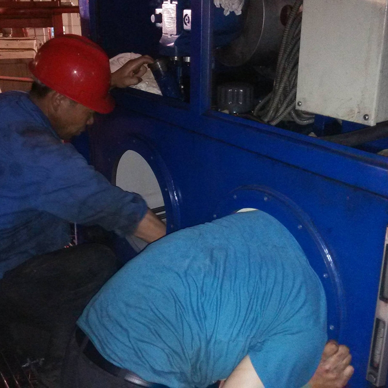 斗轮机维修