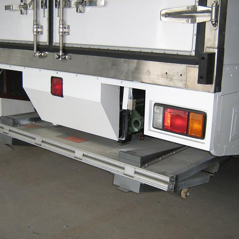 折叠式尾板应用领域