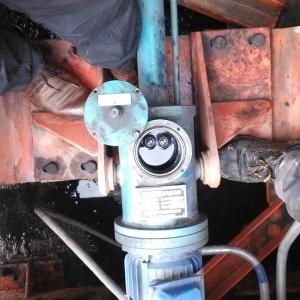 翻车机迁车台插销装置检修